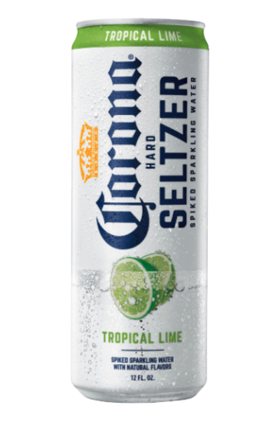 Corona Hard Seltzer Tropical Lime Gluten Free Spiked Sparkling Water Price Reviews Drizly