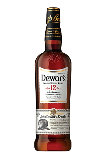 Dewar's 12 Year Blended Scotch Whisky