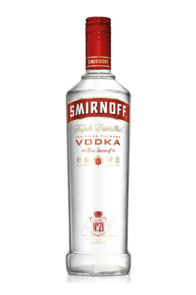 Smirnoff No. 21 Vodka - Buy Liquor Online | Drizly