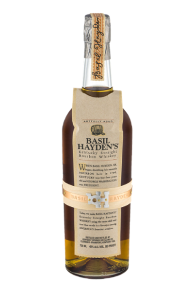 Basil Hayden's Kentucky Straight Bourbon Whiskey